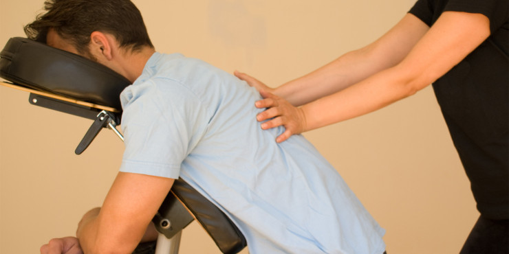 Thai Deep Tissue Chair Massage in Boulder, Colorado - Back, Neck, Shoulders, Head, Arms
